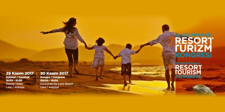 7. Uluslararası Resort Turizm Kongresindeki Standımıza Davetlisiniz