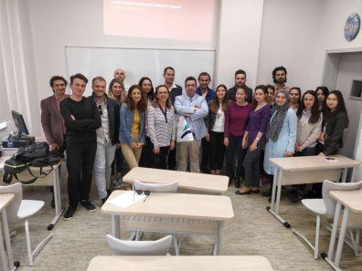 Webius Digital Antalya Bilim Üniversitesi Turizm Fakültesinde Eğitim Verdi