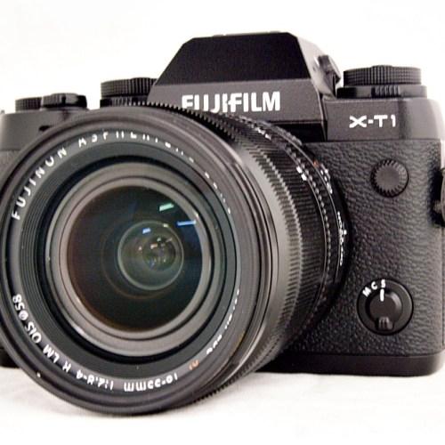 フジのミラーレスカメラ「X-T1 XF18-55mmF2.8-4 R LM OIS レンズキット」買取実績
