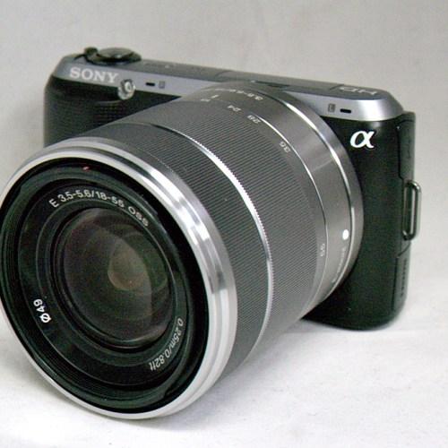 ソニーのミラーレスカメラ「α NEX-C3 ダブルレンズキット」買取実績