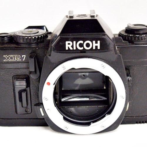 リコーのフィルム一眼カメラ「XR7」買取実績