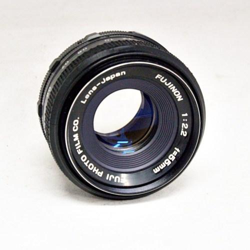 フジフィルムのカメラレンズ「FUJINON 55mm F2.2 」買取実績