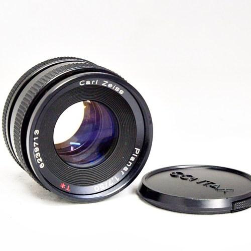 カールツァイスのカメラレンズ「Planar 50mm F1.7」買取実績