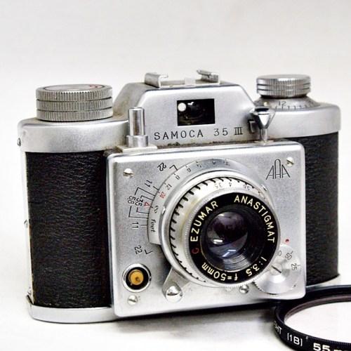 SAMOCAのレンジファインダーカメラ「35Ⅲ」買取実績