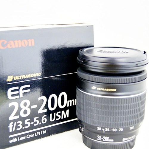 キャノンのカメラレンズ「EF28-200mm F3.5-5.6 USM」買取実績