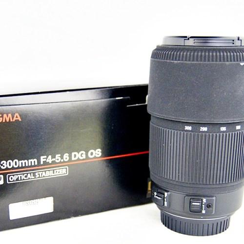 シグマのカメラレンズ「70-300mm F4-5.6 DG OS」買取実績
