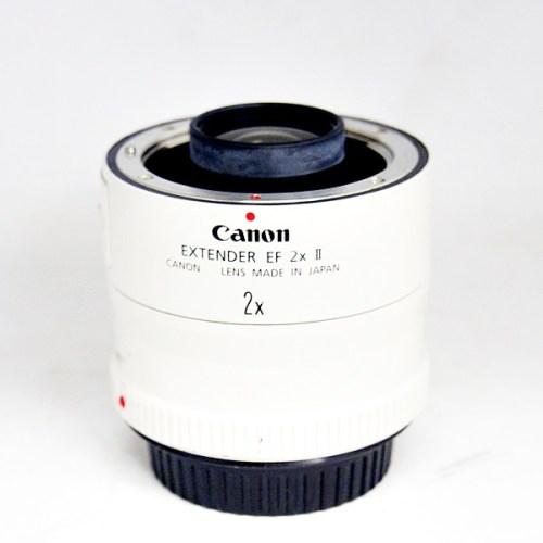 キャノンのカメラレンズ「EXTENDER EF 2× Ⅱ」買取実績