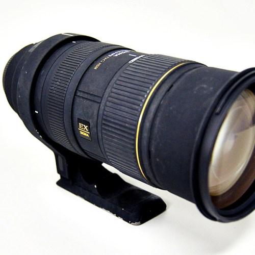 シグマのカメラレンズ「50-500mm F4-6.3 EX APO DG HSM」買取実績