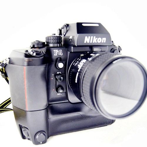 ニコンのフィルム一眼カメラ「F4」買取実績