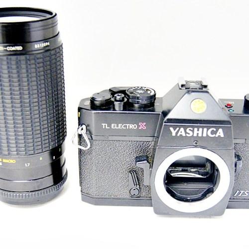ヤシカのフィルム一眼カメラ「TL ELECTRO X」買取実績