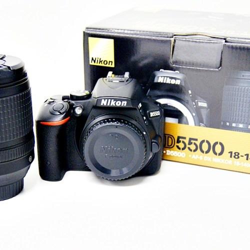 ニコンのデジタル一眼レフカメラ「D5500 18-140mm VR KIT」買取実績