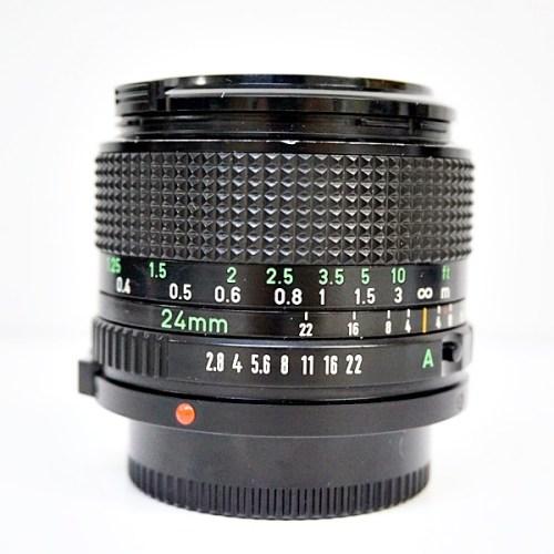 キャノンのカメラレンズ「FD 24mm F2.8」買取実績