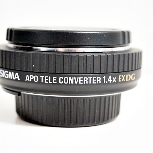 シグマのカメラレンズ「APO TELE CONVERTER 1.4X EX DG」買取実績
