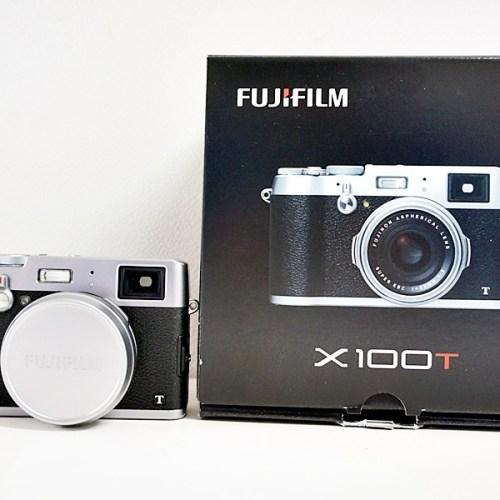 フジフィルムのレンジファインダーカメラ「X100T」買取実績