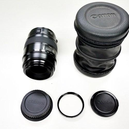 キャノンのカメラレンズ「EF 100mm F2.8」買取実績
