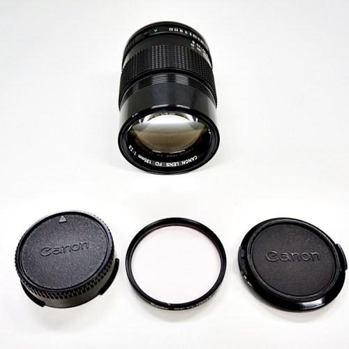 キャノンのカメラレンズ「FD 135mm F2.8」買取実績
