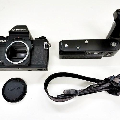 キャノンのフィルム一眼カメラ「F-1」買取実績