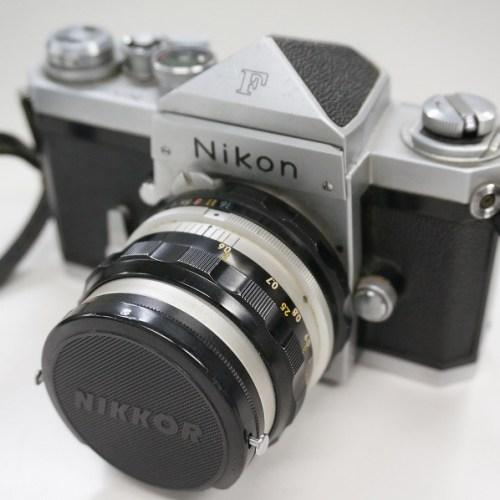 ニコンのフィルム一眼レフカメラ「F」買取実績