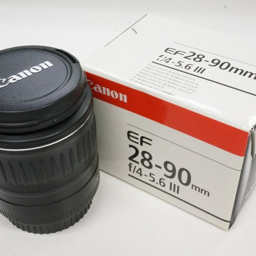 キャノンのレンズ「EF 28-90mm F4-5.6Ⅲ」買取実績