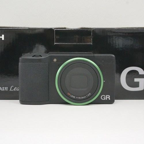リコーのコンデジ「GRⅡ 初回生産限定セット」買取実績