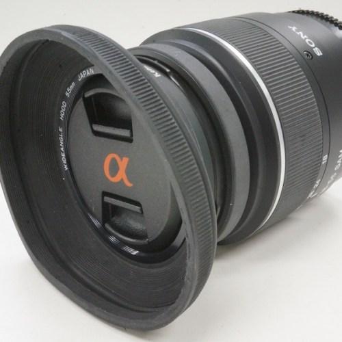 ソニーのレンズ「SAL1855 18-55mm F3.5-5.6」買取実績