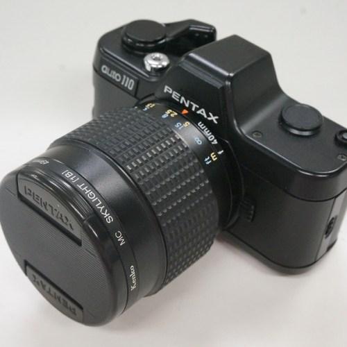 ペンタックスのフィルム一眼レフカメラ「AUTO110 20-40mm F2.8」買取実績