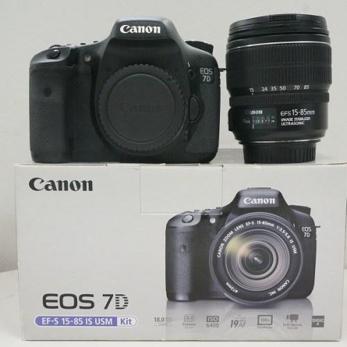 キャノンのデジタル一眼レフカメラ「EOS 7D EF-S15-85mm IS USM レンズキット」買取実績