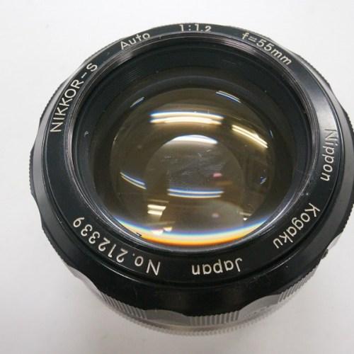 ニコンのレンズ「NIKKOR-S Auto 50mm F1.2」買取実績