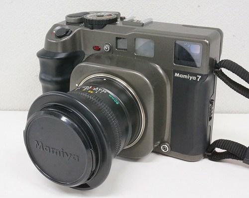 マミヤのフィルムカメラ「7 ボディ + N 80mm F4 L レンズ」買取実績