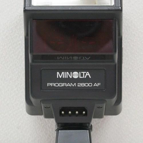 ミノルタの ストロボ「PROGRAM 2800 AF」買取実績