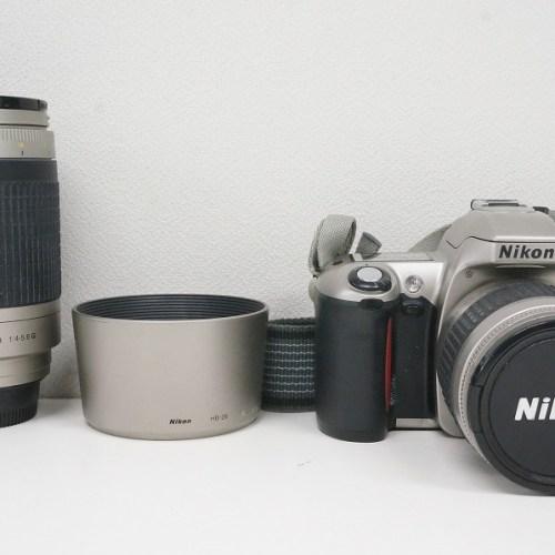 ニコンのフィルム一眼レフカメラ「U ダブルズームキット」買取実績