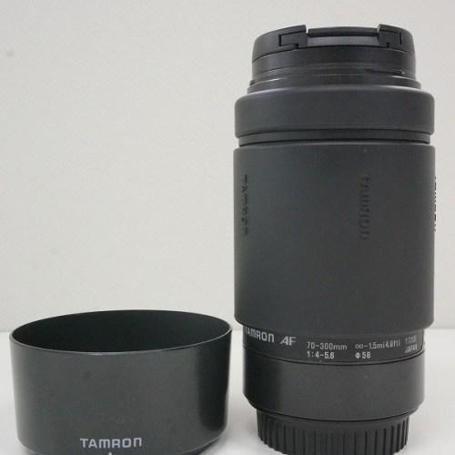 タムロンのレンズ「AF 70-300mm F4-5.6 」買取実績