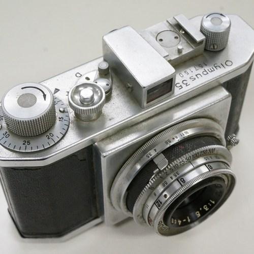 オリンパスのレンジファインダー「35 D.Zuiko 4cm F3.5」買取実績