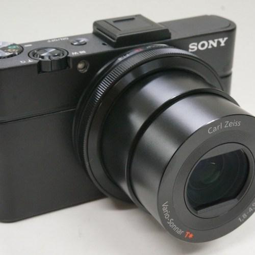 ソニーのコンデジ「DSC-RX100 M2」買取実績