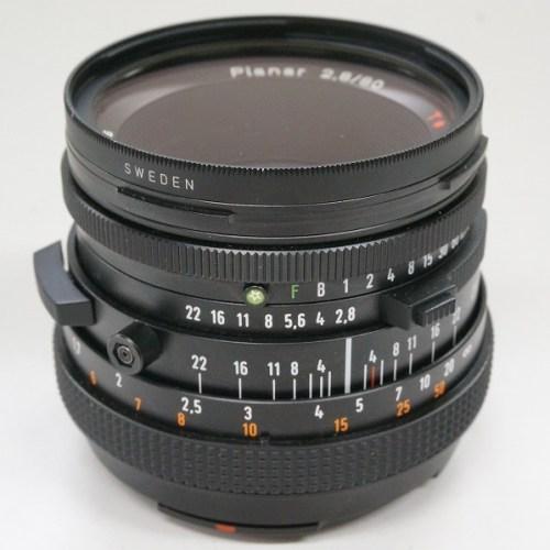 ハッセルブラッドのレンズ「Planar 80mm F2.8 T*」買取実績