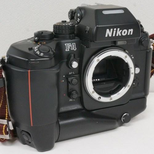 ニコンのフィルム一眼レフカメラ「F4」買取実績