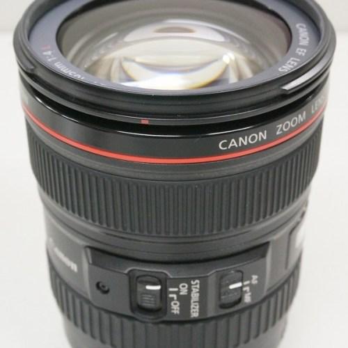 キャノンのレンズ「EF24-105mm F4L IS USM」買取実績