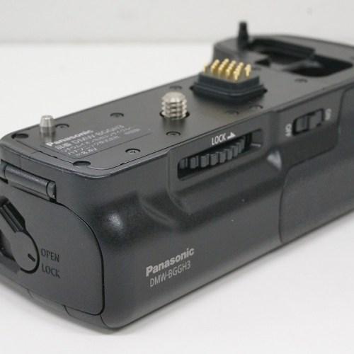 パナソニックのバッテリーグリップ「DMW-BGGH3」買取実績