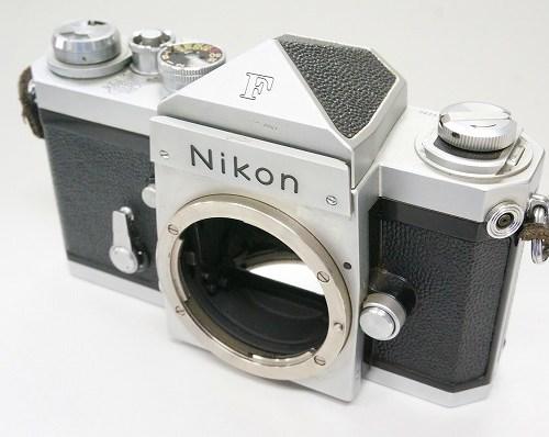 ニコンの一眼レフカメラ「F アイレベル」買取実績