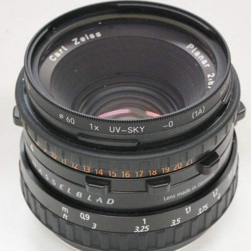ハッセルブラッドのレンズ「Planar CFE80mm F2.8 T*」買取実績