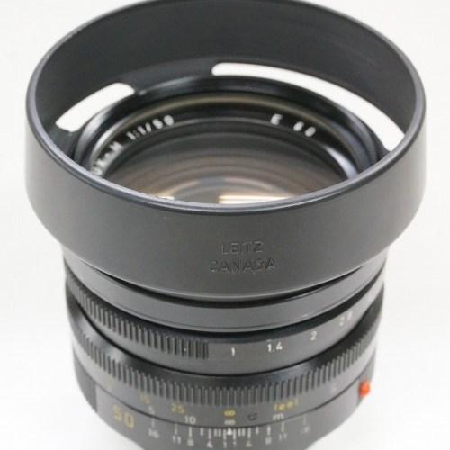 ライカのレンズ「NOCTILUX-M 50mm F1.0 E60」買取実績