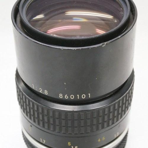 ニコンのレンズ「NIKKOR 135mm F2.8」買取実績