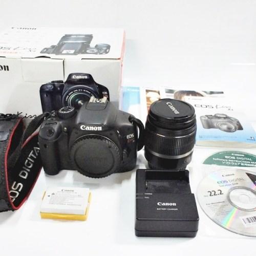 カメラ買取実績紹介「Canon キャノン EOS Kiss X4 18-55レンズキット」