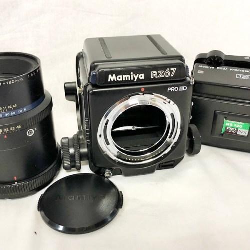 カメラ買取実績紹介「マミヤ RZ67 Professional II D + 120 + Z 180mm F4.5 W-N」