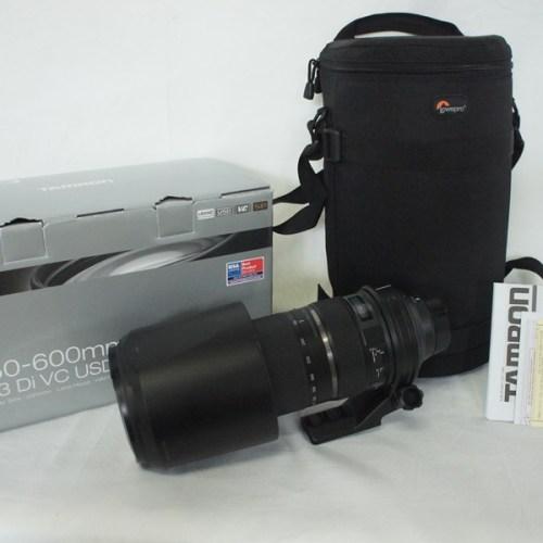 カメラ買取実績紹介「タムロン(TAMRON) SP 150-600mm F5-6.3 Di VC USD ニコン用」