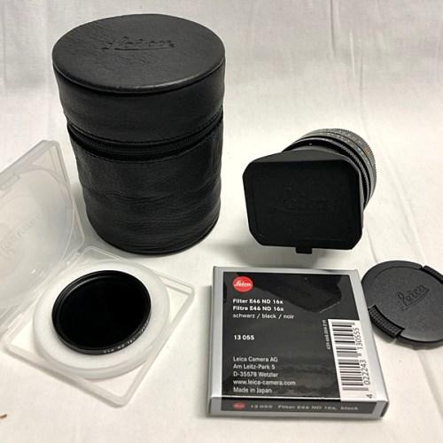 カメラ買取実績紹介「ライカ(LEICA) SUMMILUX-M F1.4 35mm ASPH. E46」