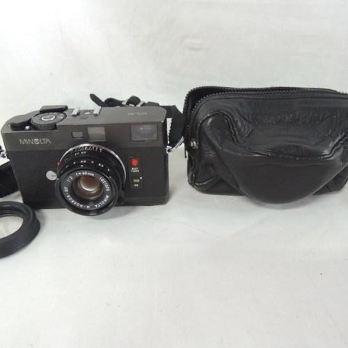 カメラ買取実績紹介「ミノルタ(Minolta) CLE + M-ROKKOR-QF 40mm F2」