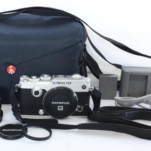 カメラ買取実績紹介「OLYMPUS オリンパス PEN-F 12mm F2.0 レンズキット」
