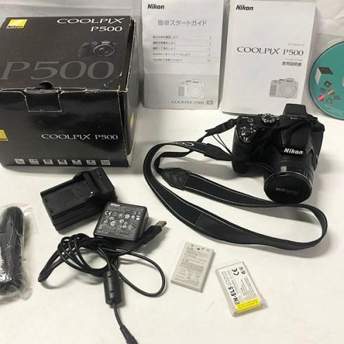 カメラ買取実績紹介「Nikon ニコン COOL PIX P500」