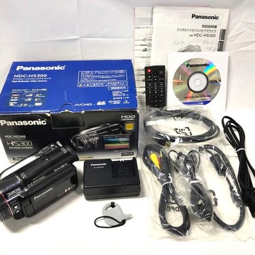 カメラ買取実績紹介「Panasonic パナソニック HDC-HS300」